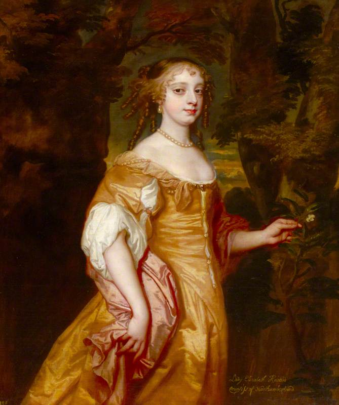 Called 'Lady Elizabeth Wriothesley (1646–1690), Countess of Northumberland'