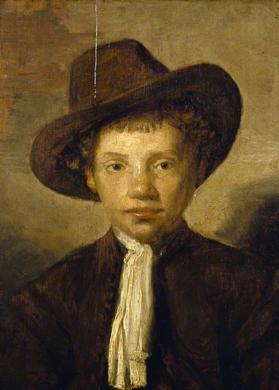 Portrait of an Unknown Young Boy in a Hat