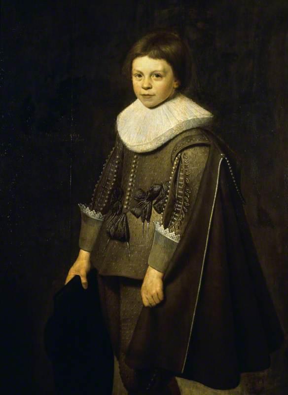 Portrait of an Unknown Boy, Aged 10