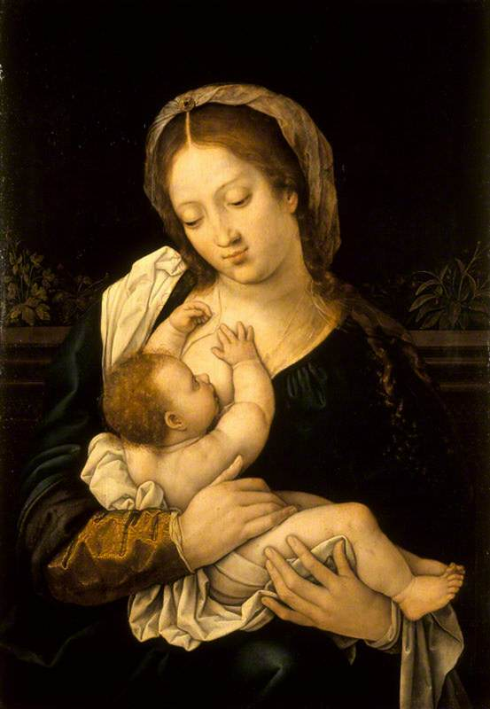 The Madonna with the Christ Child at Her Breast