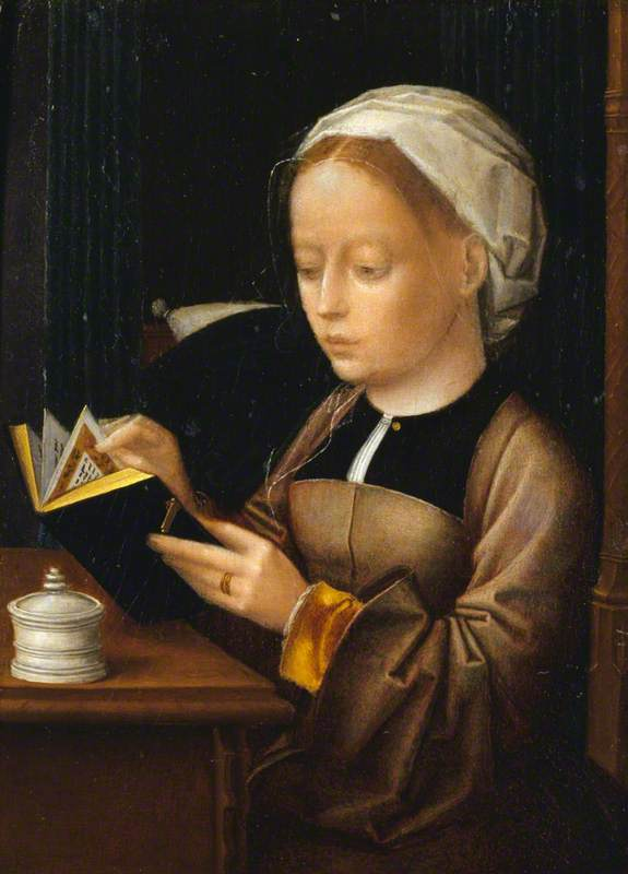 A Lady as the Magdalen