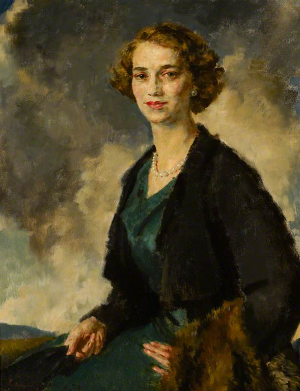 Elizabeth (Betty) Smiley (1907–2006), Mrs Christopher Hussey, as a Young Woman