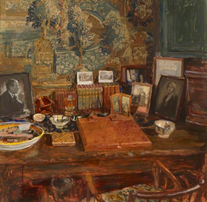 Vita Sackville-West's Writing Room in the Elizabethan Tower at Sissinghurst Castle
