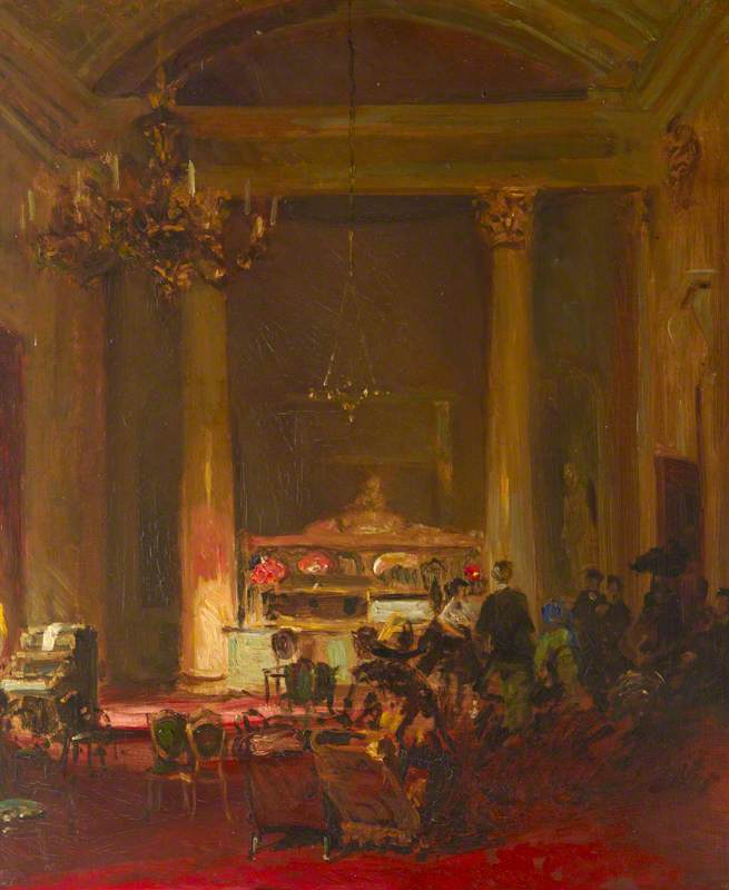 The Saloon Bar at the Theatre Royal, Drury Lane