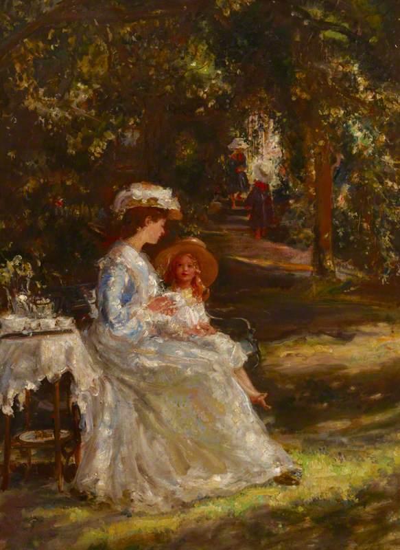 Tea in the Garden (The Tea Table)