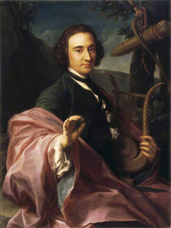 The Reverend Utrick Fetherstonhaugh (1717/1718–1788), as Apollo