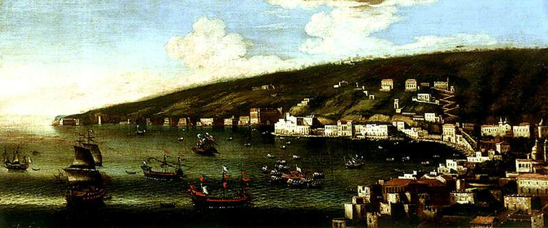 The Bay of Naples Looking towards Posillipo