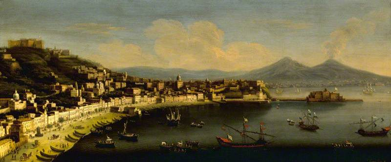The Bay of Naples, with the Chiaia, Seen from Posillipo