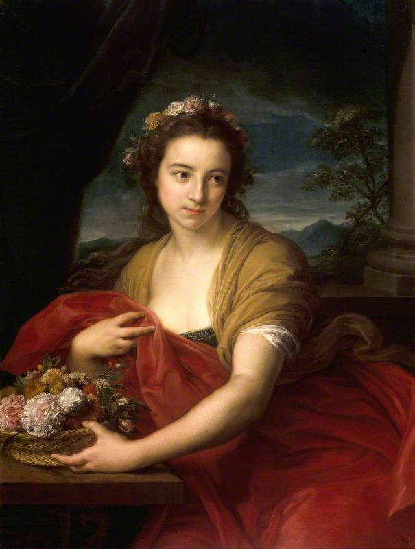 Katherine Durnford, Later Mrs Utrick Fetherstonhaugh, as Flora