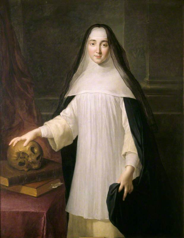 Portrait of an Augustinian Canoness, Called Winifred Cufaude