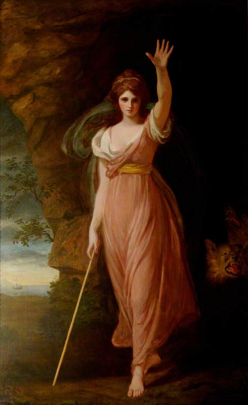 Emma Hart (c.1765–1815), Lady Hamilton, as Circe