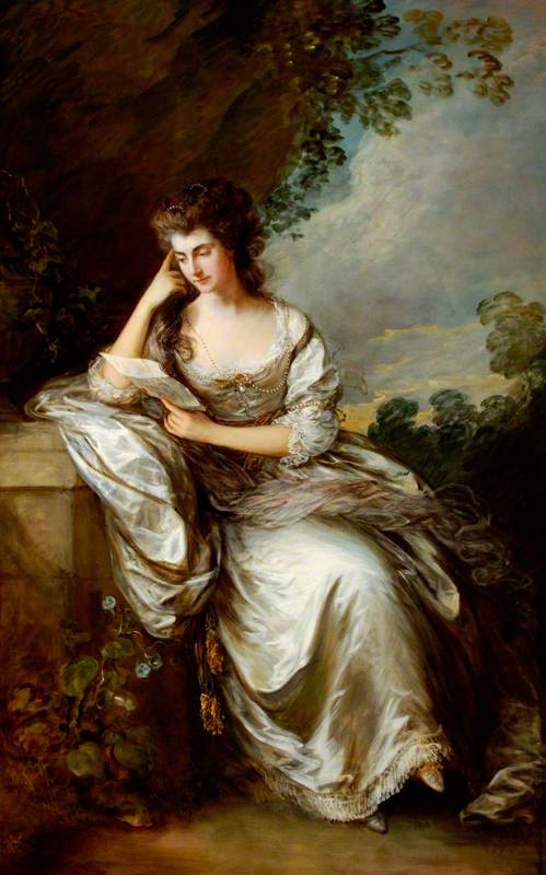 Frances Browne (1746–1811), Mrs John Douglas