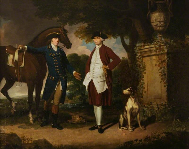John Frederick Sackville (1745–1799), 3rd Duke of Dorset, and Mr Ralph Petley of Riverhead