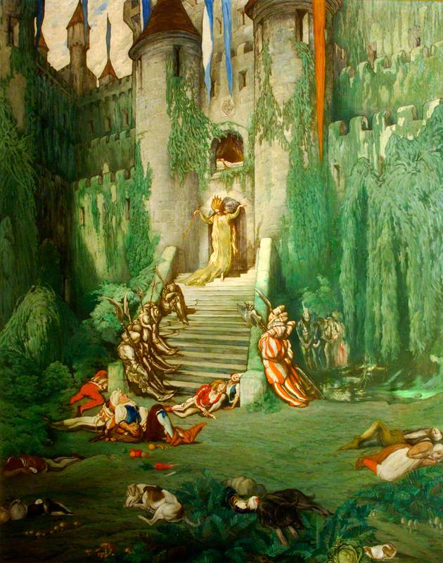The Sleeping Beauty: The Princess and the Court Fall Asleep for a Hundred Years