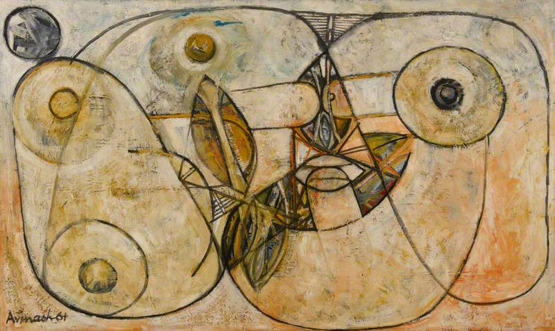 Untitled (Abstract with Erotic Forms)
