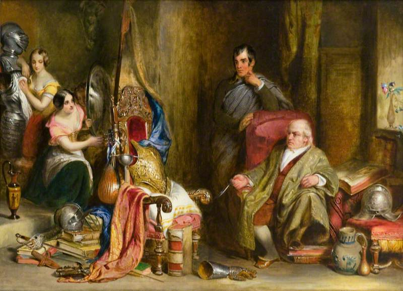 The Meeting of Burns and Captain Francis Grose