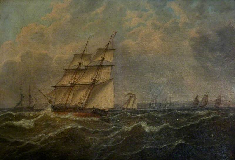 A Trial Ordered by Vice Admiral Codrington, 31 July 1831, off the Dodman
