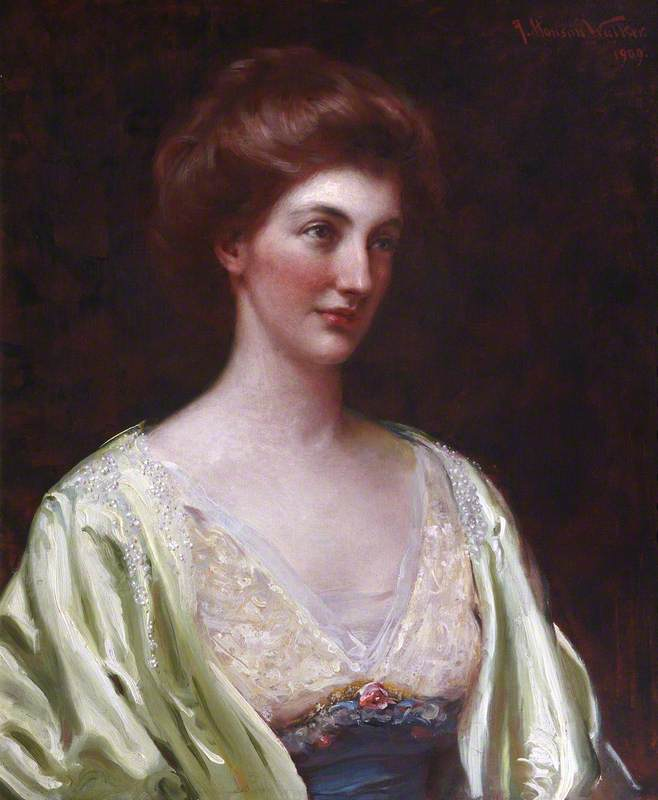 Margaret, Lady Blake, Previously Lady Dalrymple, Wife of Sir Charles Dalrymple