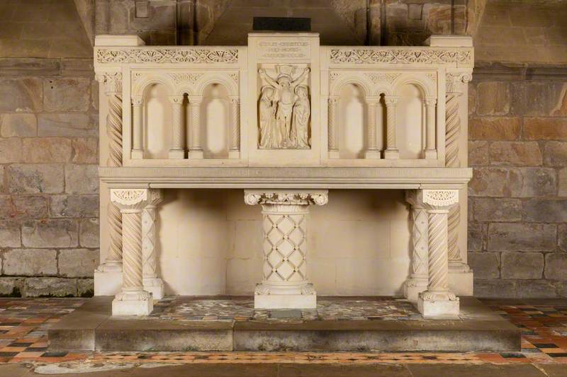 Memorial Altar to Cadogan Hodgson Cadogan*