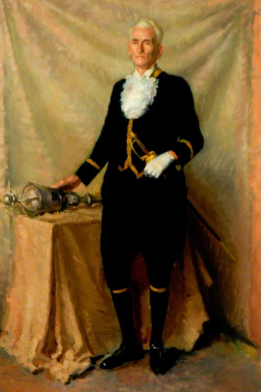 Mr Bowlt (The Mace-Bearer)