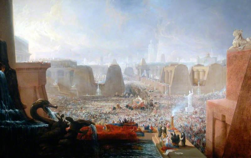 Alexander's Triumphal Entry into Babylon