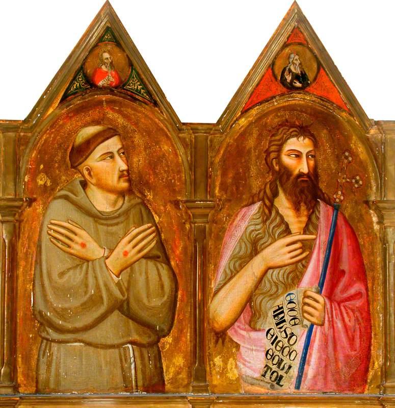 Saint Francis and John the Baptist