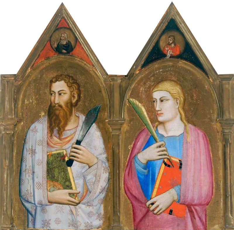 Saint Bartholomew and Saint John the Evangelist