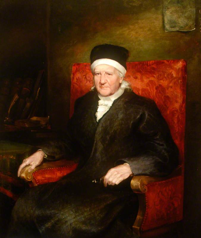 Charles Hutton (1737–1823), LLD, FRS, Mathematician