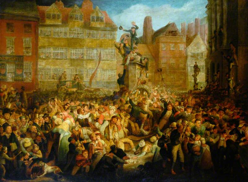 Sandhill Wine Pant, Coronation of George IV