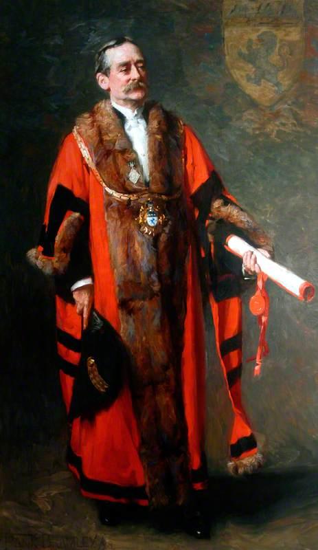 Colonel Sir Samuel Alexander Sadler, JP, VD, MP (1842–1911), Mayor of Middlesbrough (1877, 1896 and 1910)