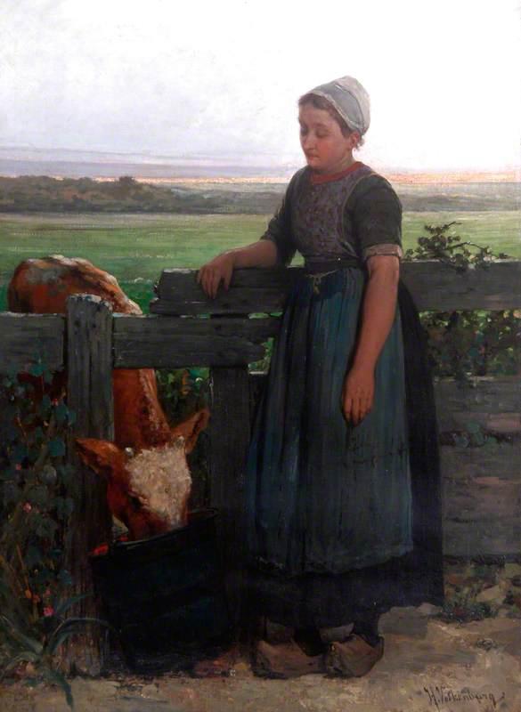 A Peasant Girl