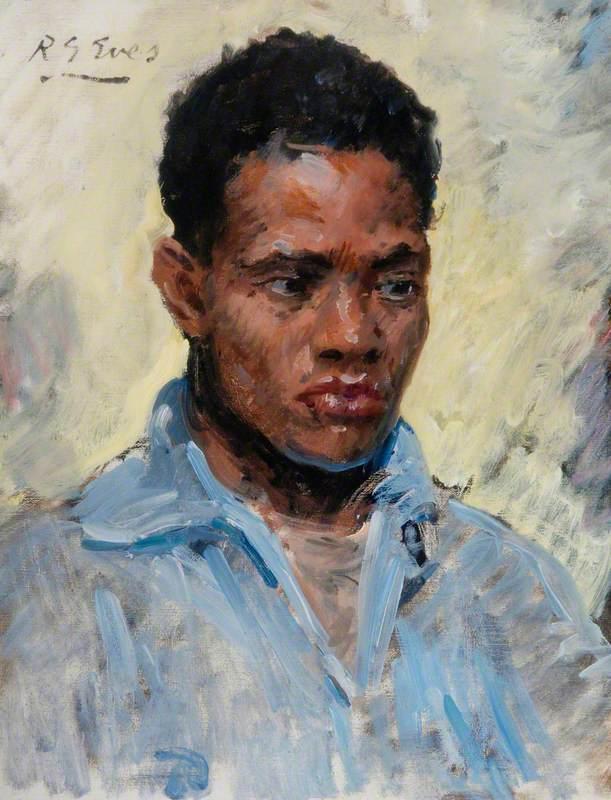 African Portrait No. 2