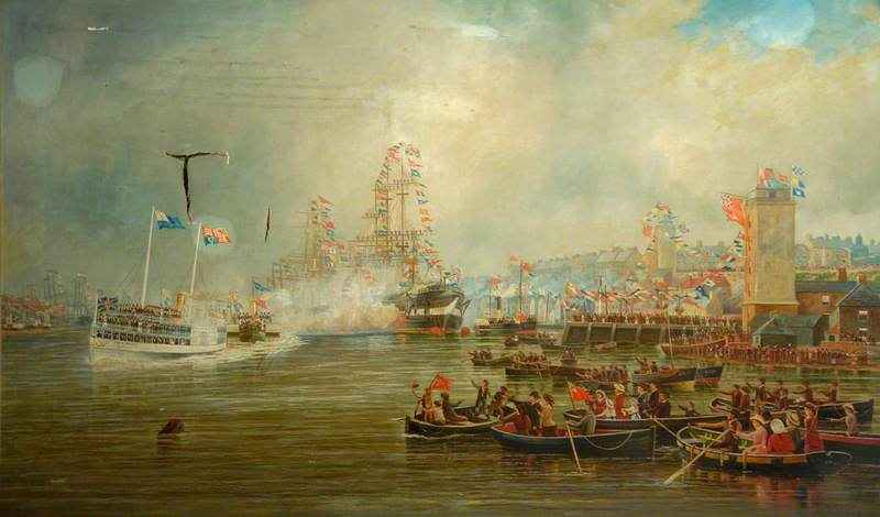 The Royal Visit to the Tyne