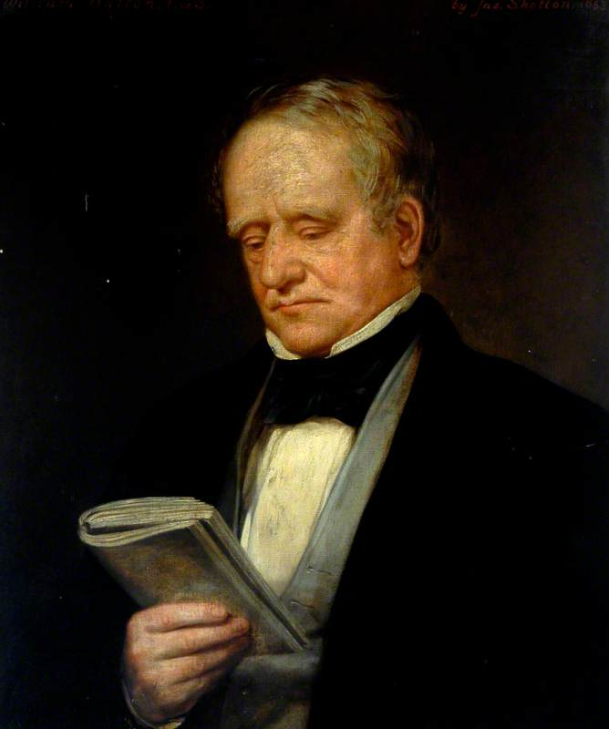 William Hutton (1797–1860), FGS