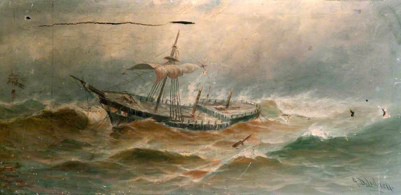 A Storm at Sea*