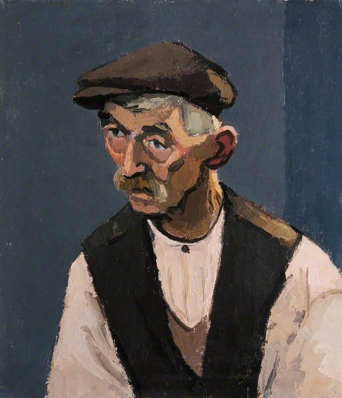 Hugh Thomas, Portrait of a Farmer