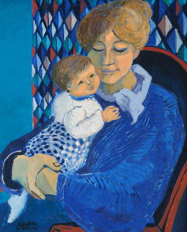 Mother in Blue