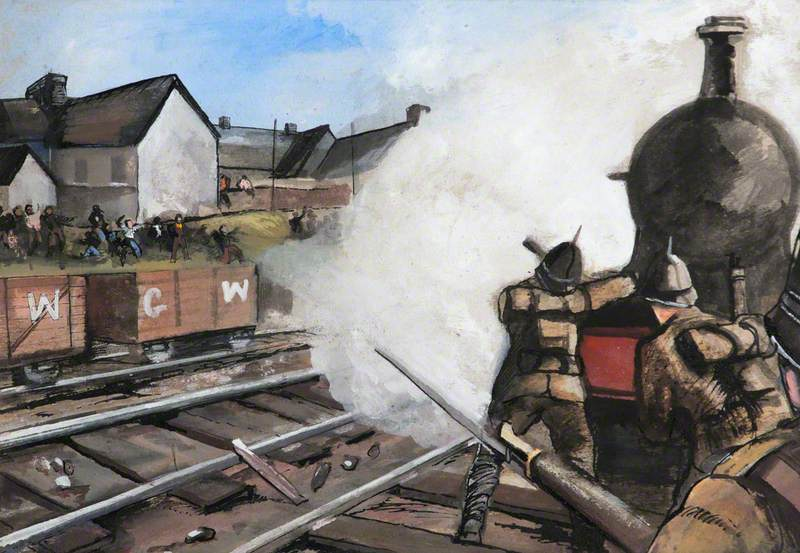 The Riots of 1911, a Reconstruction of the Event