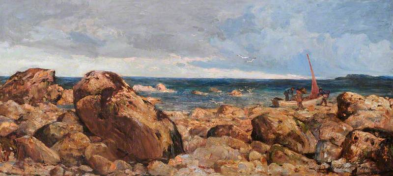 Rocks at Llandudno