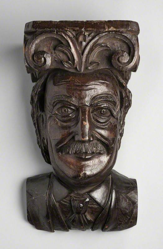David Lloyd George (1863–1945) as a Corbel