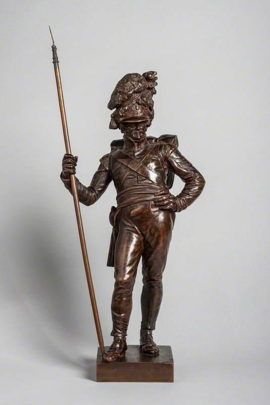 Fusilier from Wellington's Memorial