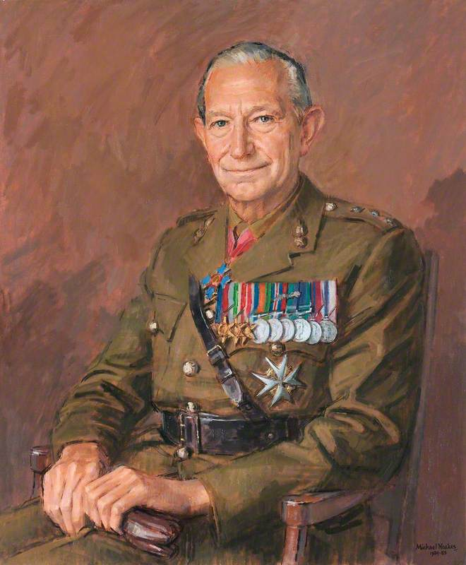 Major General Peter Leuchars (1922–2009)