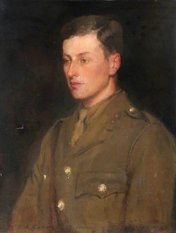 Second Lieutenant Randal Alexander Casson, 2nd Battalion Royal Welch Fusiliers