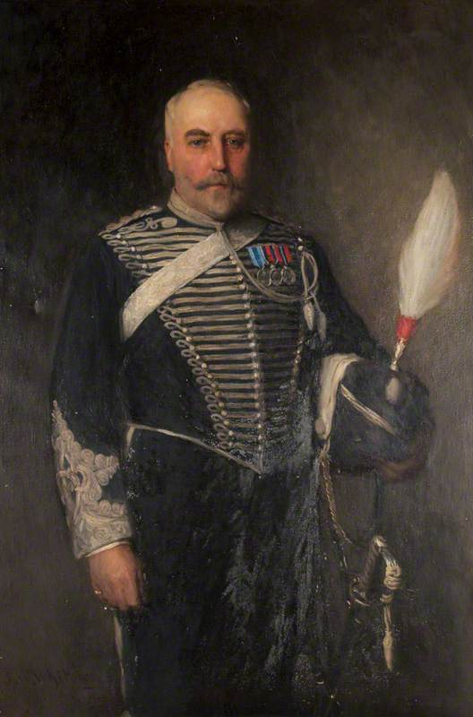 Colonel Sir Charles Edward Gregg Philipps (formerly Fisher) (1840–1928), 1st Baronet (23rd July 1887)