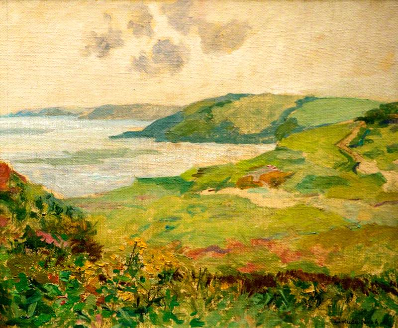 Manorbier Bay