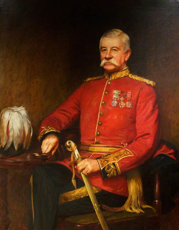 Major-General William Allan (1832–1918), 41st Regiment, Colonel of The Welch Regiment (1904–1918)