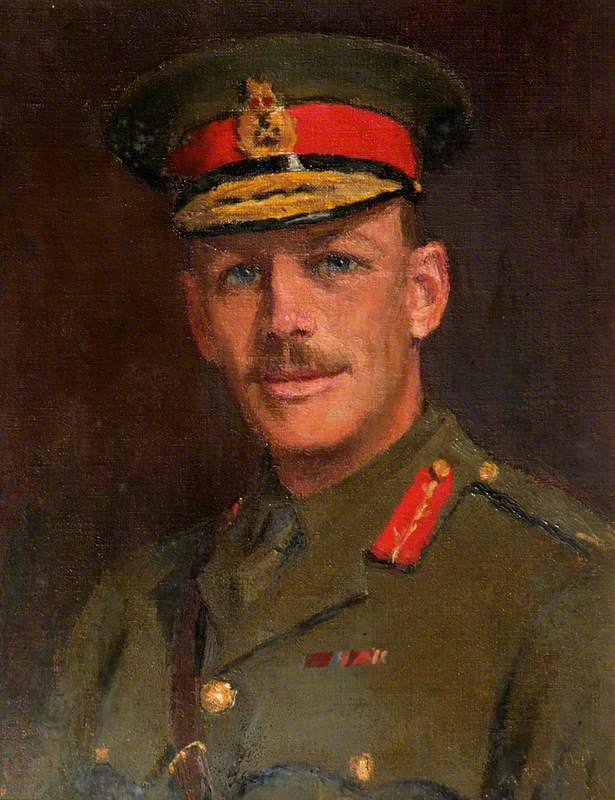 Brigadier General Anthony Julian Reddie (1873–1960), CMG, DSO