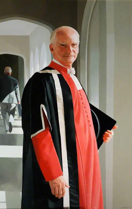 Brian Robert Morris (1930–2001), Baron Morris of Castle Morris, Principal of St David's University College (1980–1991)