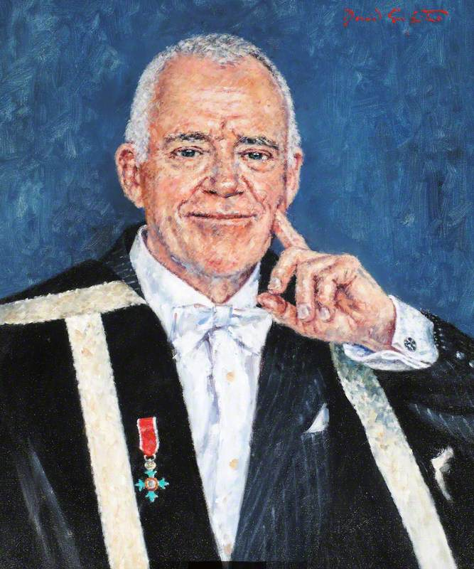 Alfred Cosier Morris (b.1941), Vice-Chancellor of the University of Wales Lampeter (2003–2008)