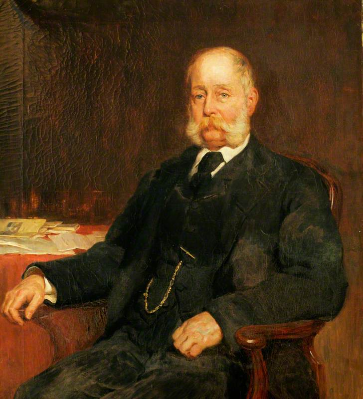 Deverex Herbert Mitton (1832–1910), Chairman of Quarter Sessions (1891–1910), Chairman of the County Council (1906–1910)